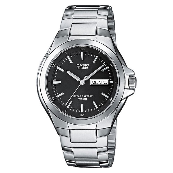 Часы Casio Collection Mtp-1228d-1a Silver/Black