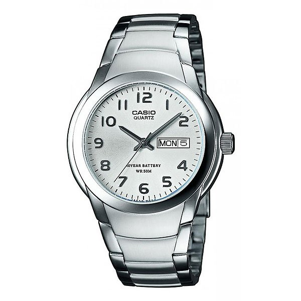 Часы Casio Collection Mtp-1229d-7a Silver