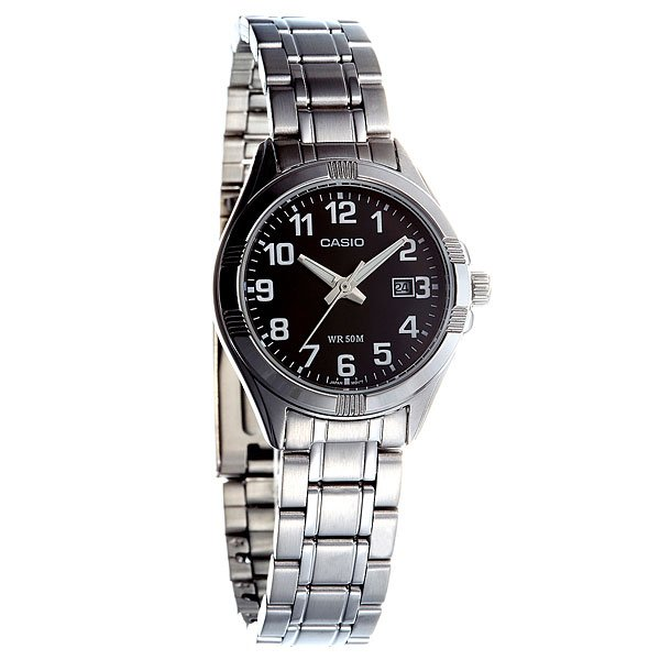 Часы Casio Collection Ltp-1308pd-1b Silver/Black