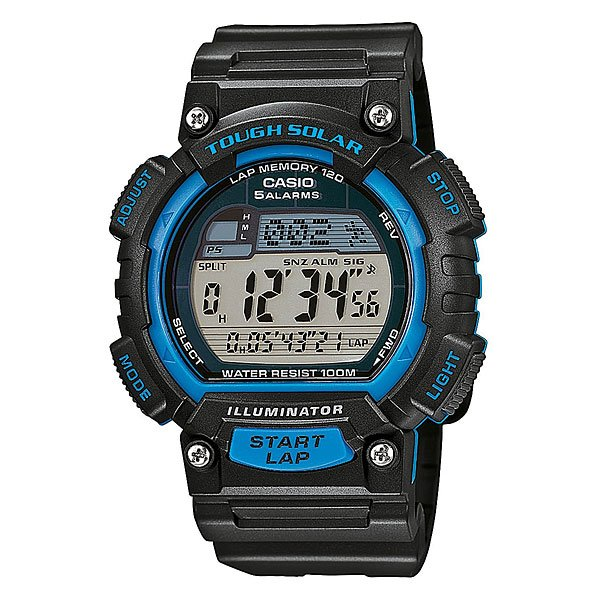 Часы Casio Collection Stl-s100h-2a Black casio sports stl s100h 1a