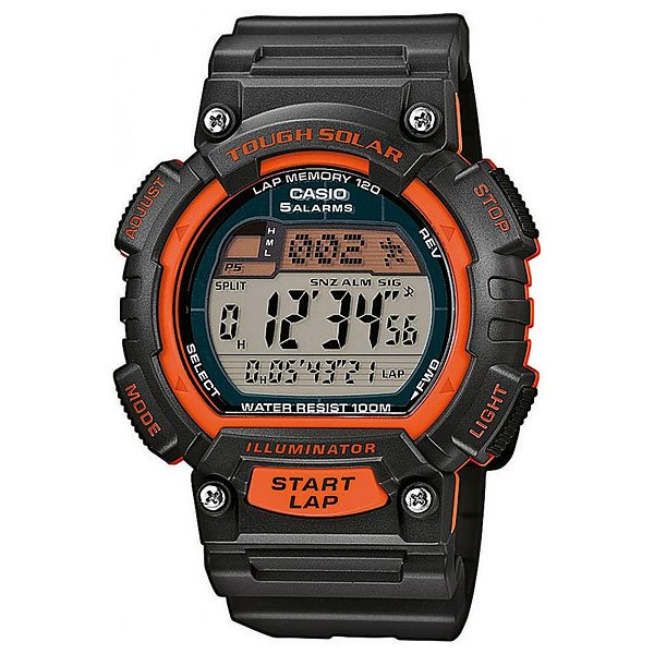 Часы Casio Collection Stl-s100h-4a Black casio sports stl s100h 1a
