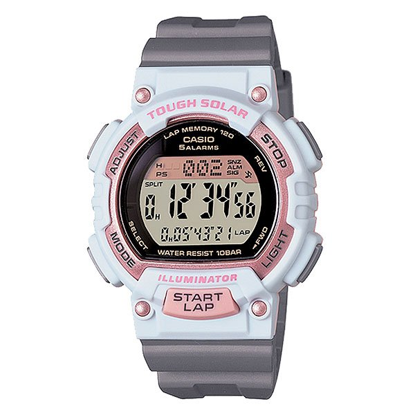 Часы женские Casio Collection Stl-s300h-4a Grey/White/Pink