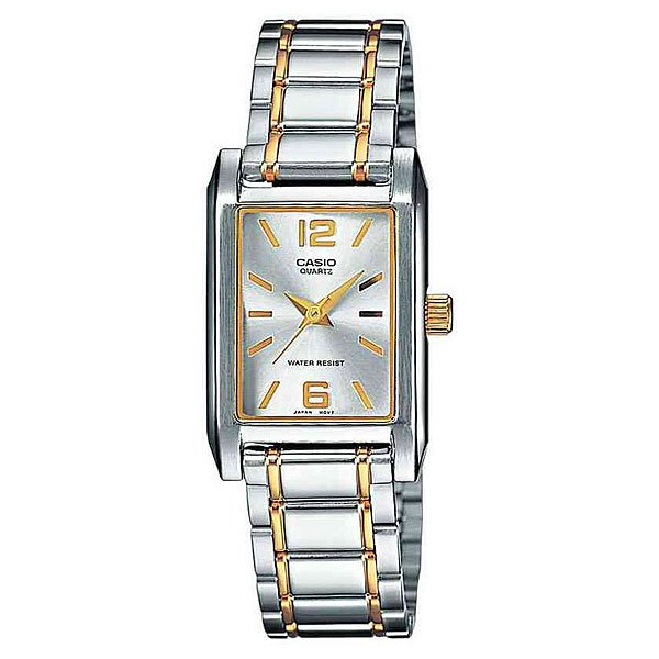 Часы Casio Collection Ltp-1235psg-7a Silver/Gold часы casio ltp e118g 5a