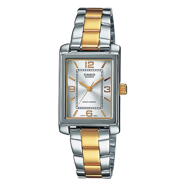 Часы Casio Collection Ltp-1234psg-7a Silver/Gold часы casio collection ltp 1154pq 7a gold black
