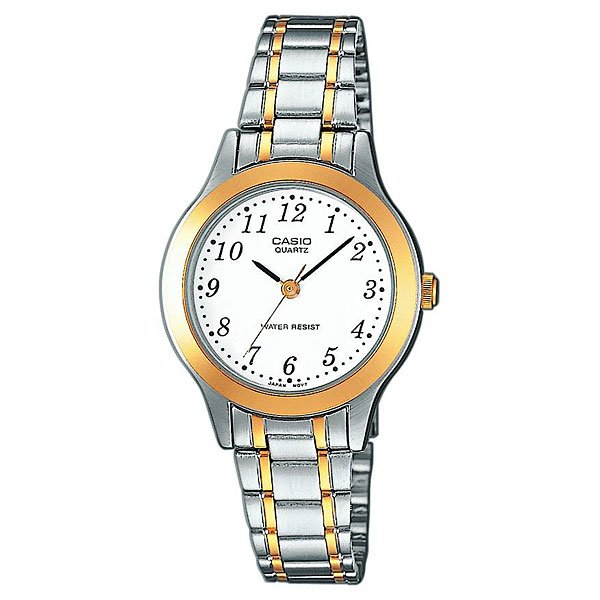 Часы Casio Collection Ltp-1263pg-7b Silver/Gold кварцевые часы casio collection ltp e118g 5a