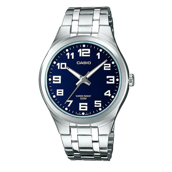 Часы Casio Collection Ltp-1310pd-2b Silver/Blue кварцевые часы casio collection ltp e118g 5a