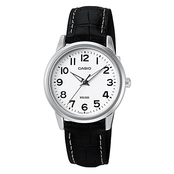 Часы Casio Collection Ltp-1303pl-7b Silver/Black кварцевые часы casio collection ltp e118g 5a