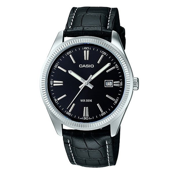 Часы Casio Collection Mtp-1302pl-1a Silver/Black
