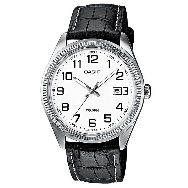 Часы Casio Collection Mtp-1302pl-7b Silver/Black