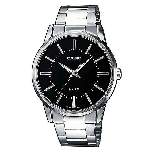 Часы Casio Collection Mtp-1303pd-1a Silver/Black часы casio collection mtp 1314pd 1a silver black
