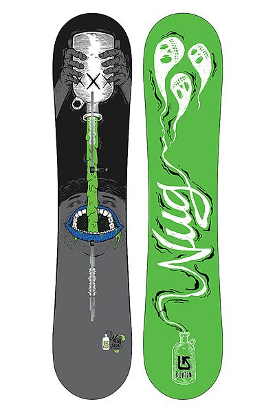 Сноуборд Burton Nug 146 Black/Green