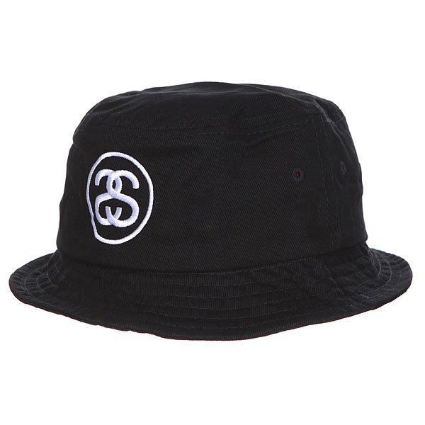 Панама Stussy Ss-Link Bucket Hat Black