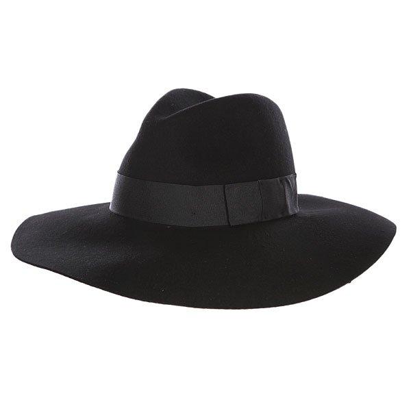 Шляпа женская Brixton Piper Hat Black/Black
