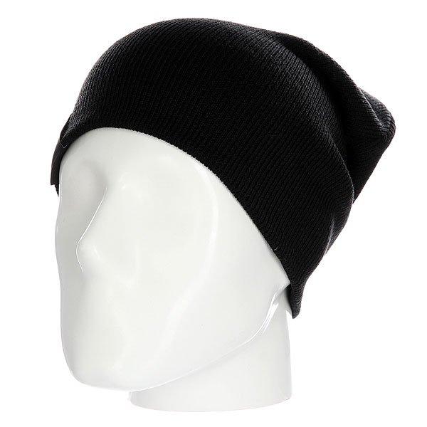 Шапка носок Les Basic BlackОднотонная шапка - носок идеально сочетает стильный современный дизайн и практичность, так как она позволяет менять фасон в зависимости от настроения.Технические характеристики: Материал - акрил.Мелкая вязка.Удлиненная макушка.Текстильный ярлычок с логотипом.Шапку можно носить как с отворотом, так и без него.<br><br>Цвет: черный<br>Тип: Шапка носок<br>Возраст: Взрослый<br>Пол: Мужской