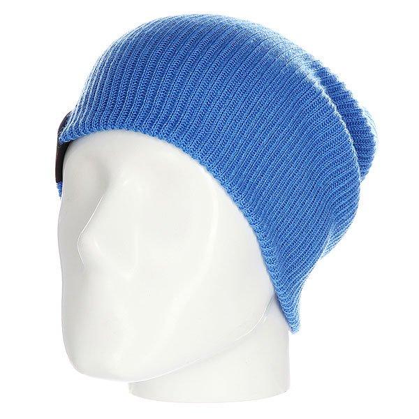Шапка носок Les All Day SkyОднотонная шапка - носок идеально сочетает стильный современный дизайн и практичность, так как она позволяет менять фасон в зависимости от настроения.Технические характеристики: Материал - акрил.Мелкая вязка.Удлиненная макушка.Текстильный ярлычок с логотипом.Шапку можно носить как с отворотом, так и без него.<br><br>Цвет: синий<br>Тип: Шапка носок<br>Возраст: Взрослый<br>Пол: Мужской