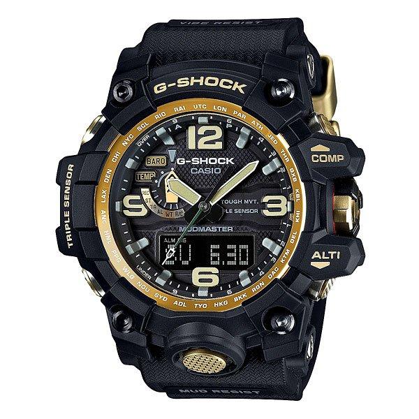 Часы Casio G-Shock Premium Gwg-1000gb-1a BlackНадежные часы с мощными функциями, предназначенные для работы в тяжелых условиях на суше, на море и в воздухе.Технические характеристики: Двойная электролюминесцентная подсветка.Ударопрочная конструкция защищает от ударов и вибрации.Особая конструкция, устойчивая к пыли и загрязнениям, предохраняет попадание грязи в часы.Устойчивость к воздействию вибрации.Солнечная батарейка.Прием радиосигнала (Европа, США, Япония, Китай).Неоновый дисплей - светящееся покрытие обеспечивает длительную подсветку в темное время суток после короткого воздействия света.Цифровой компас - встроенный цифровой компас определяет северный магнитный полюс.Высотометр 10 000 м.График набора высоты.Память данных высотометра.Барометр (260 / 1.100 гПа).Термометр (-10°C / +60°C).Функция мирового времени.Функция секундомера- 1/100 сек. - 24 часа.Таймер - 1/1 сек. - 1 час.5 ежедневных будильников.Автоматическая ручная настройка.Включение/выключение звука кнопок.Функция перемещения стрелок.Технология Smart Access - часы быстро и интуитивно просто настраиваются с помощью электронного штифта.Автоматический календарь.12/24-часовое отображение времени.Сапфировое стекло - искусственно изготовленное стекло с высокой прочностью и устойчивостью к царапинам.Корпус из полимерного пластика.Ремешок из полимерного материала.Индикатор уровня заряда батарейки.Водонепроницаемость (20 Бар) - 200м.<br><br>Цвет: черный<br>Тип: Кварцевые часы<br>Возраст: Взрослый<br>Пол: Мужской
