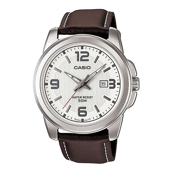 Часы Casio Collection Mtp-1314pl-7a Grey/brown