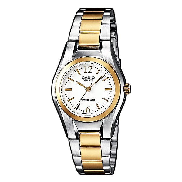Часы Casio Collection Ltp-1280psg-7a Grey/Gold часы casio collection ltp 1280psg 9a grey gold