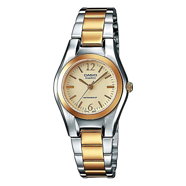 Часы Casio Collection Ltp-1280psg-9a Grey/Gold кварцевые часы casio collection ltp e118g 5a