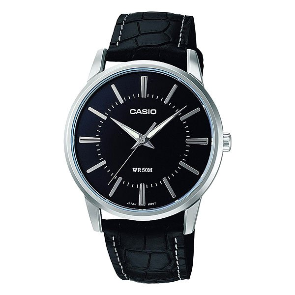 Часы Casio Collection Mtp-1303pl-1a Grey/Black часы casio collection mtp 1314pd 1a silver black