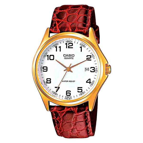Часы Casio Collection Mtp-1188pq-7b Gold/Red
