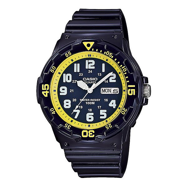 Часы Casio Collection Mrw-200hc-2b Navy/Yellow casio mrw 200hc 7b2