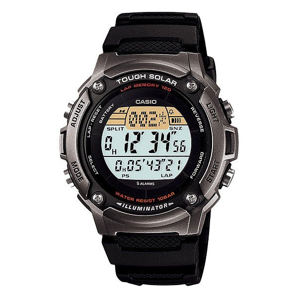 Часы Casio Collection W-s200h-1a Grey/Black