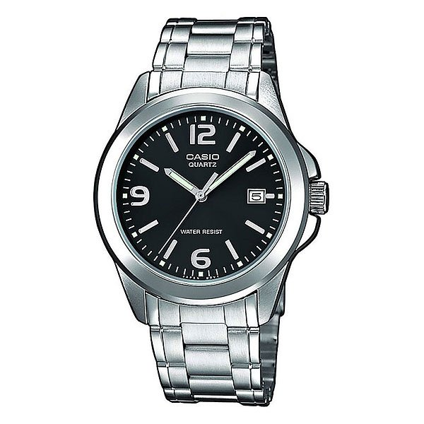 Часы Casio Collection Ltp-1259pd-1a Grey/Black кварцевые часы casio collection ltp e118g 5a