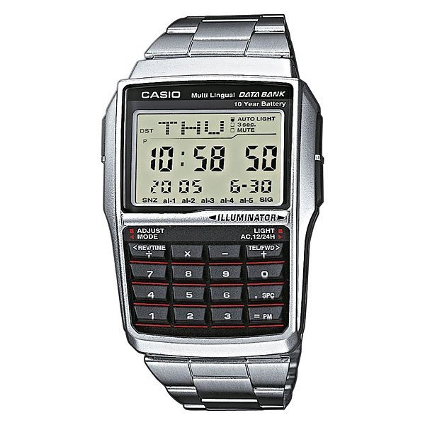 Часы Casio Collection Dbc-32d-1a Grey/Black casio dbc 611ge 1a
