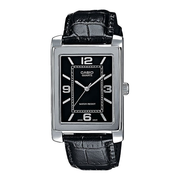 Часы Casio Collection Ltp-1234pl-1a Grey/Black часы casio collection ltp 1280psg 9a grey gold
