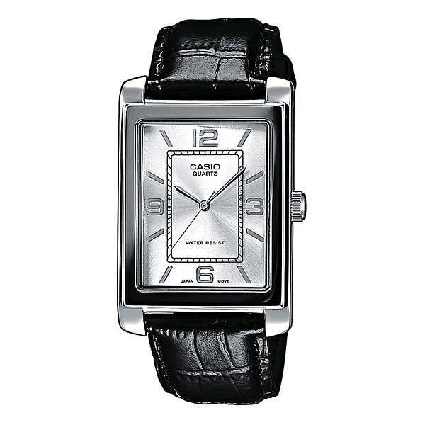 Часы Casio Collection Ltp-1234pl-7a Grey/Black часы casio collection ltp 1280psg 9a grey gold
