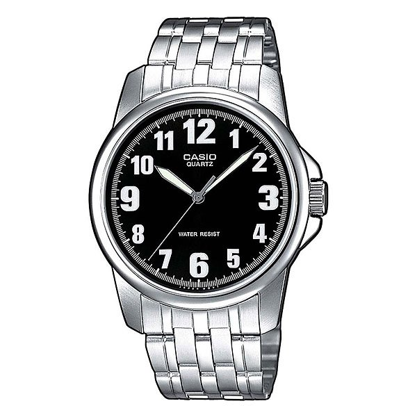 Часы Casio Collection Mtp-1260pd-1b Grey/Black часы casio mtp 1377l 5a