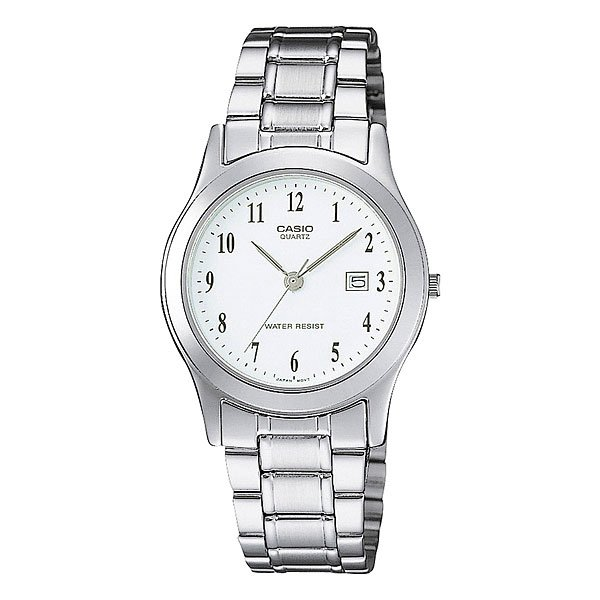 Часы Casio Collection Ltp-1141pa-7b Grey/White кварцевые часы casio collection ltp e118g 5a