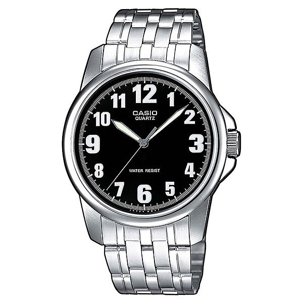 Часы Casio Collection Ltp-1260pd-1b Grey/Black кварцевые часы casio collection ltp e118g 5a