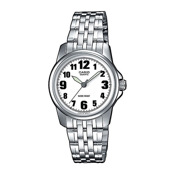Часы Casio Collection Ltp-1260pd-7b Grey/White кварцевые часы casio collection ltp e118g 5a