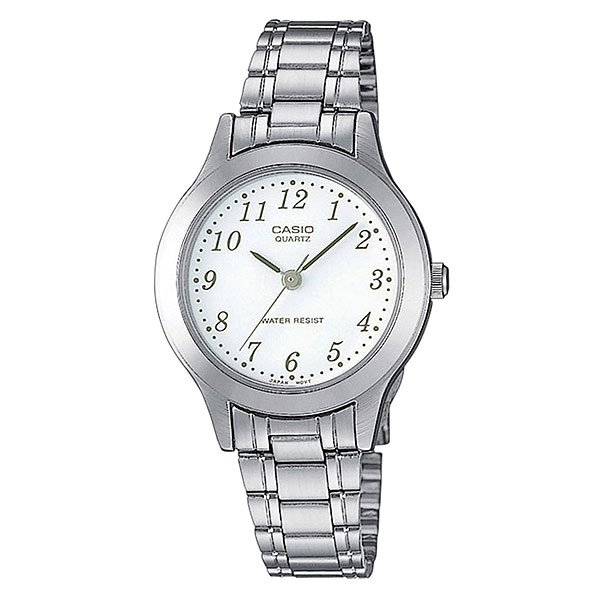 Часы Casio Collection Ltp-1128pa-7b Grey/White кварцевые часы casio collection ltp e118g 5a