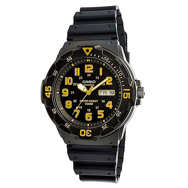 цена на Часы Casio Collection Mrw-200h-9b Black/Yellow