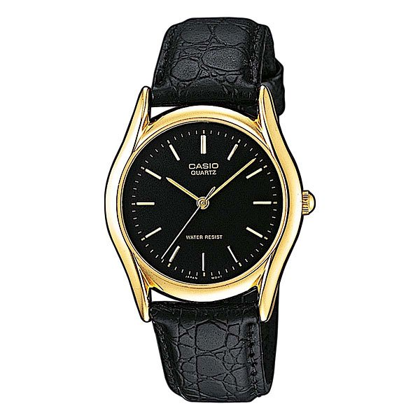 Часы Casio Collection Mtp-1154pq-1a Black/Gold часы casio collection mtp 1314pd 1a silver black