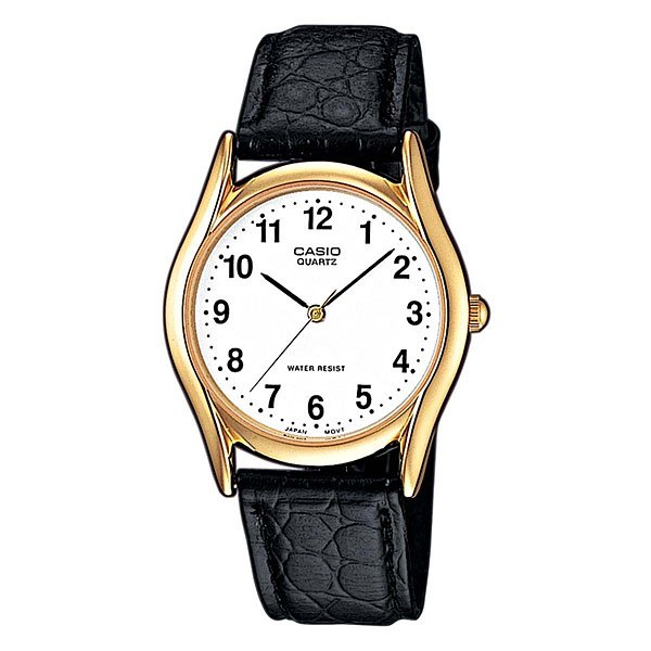 Часы Casio Collection Mtp-1154pq-7b Gold/Black кварцевые часы casio collection mtp 1264pg 7b grey