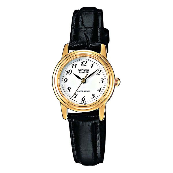 Часы Casio Collection Ltp-1236pgl-7b Gold/Black кварцевые часы casio collection ltp e118g 5a