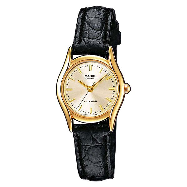 Часы Casio Collection Ltp-1154pq-7a Gold/Black кварцевые часы casio collection ltp e118g 5a
