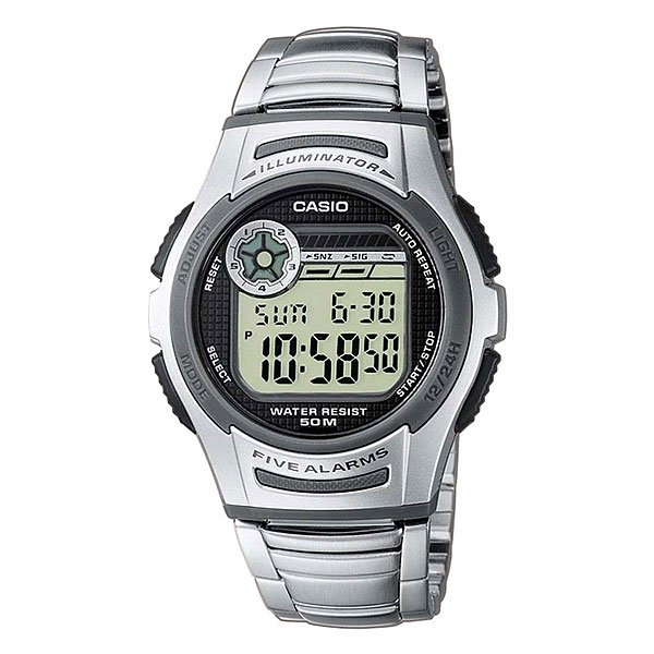 Часы Casio Collection W-213d-1a Grey