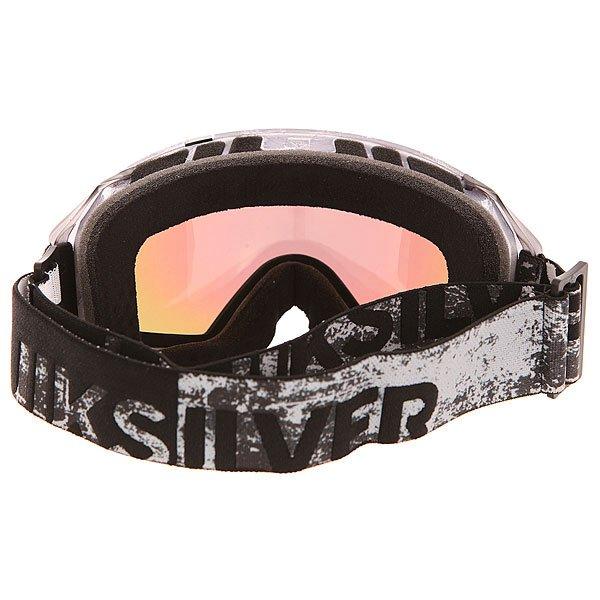 Фото Маска для сноуборда Quiksilver Q2 Grey/Black. Купить с доставкой