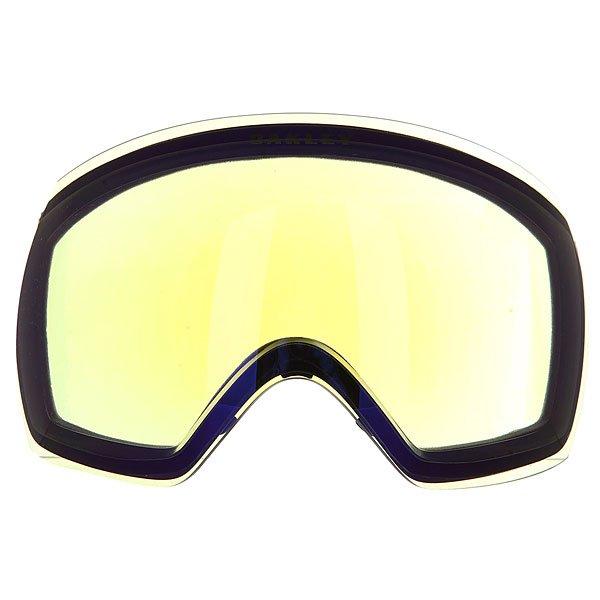 Линза для маски Oakley Repl. Lens Flight Deck H.i. YellowЗапасная линза для маски Oakley Flight Deck из инновационного материала Plutonite®, обеспечивающего 100% защиту от ультрафиолета. Технология быстрой смены линз в масках Oakley поможет без проблем их заменить на более подходящий к текущей ситуации вариант.Характеристики:Линзы высокой чёткости High Definition Optics®.Материал линз: Plutonite®.100% защита от ультрафиолетовых лучей (UVA, UVB и UVC). Покрытие F3 Anti-fog препятствует запотеванию линзы. Защитная мягкая сумочка в комплекте.<br><br>Цвет: желтый<br>Тип: Линза для маски<br>Возраст: Взрослый<br>Пол: Мужской
