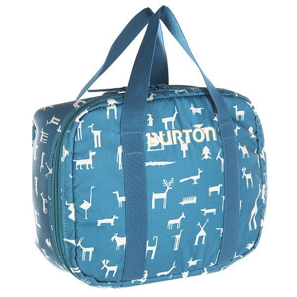 Сумка для завтраков детская Burton Lunch Box Youth Wallpaper<br><br>Цвет: синий<br>Тип: Сумка<br>Возраст: Детский