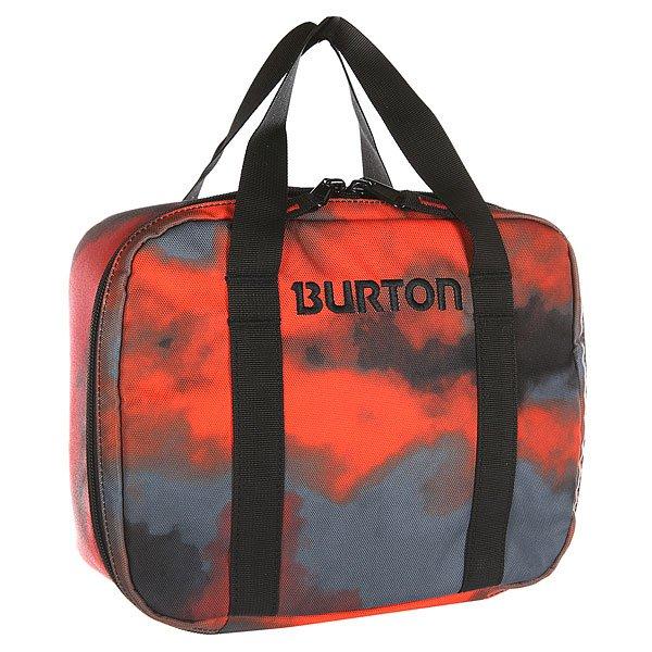 Сумка для завтраков Burton Lunch Box Apocalypse Plaid<br><br>Цвет: красный,синий<br>Тип: Сумка<br>Возраст: Взрослый<br>Пол: Мужской