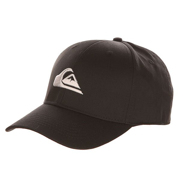 Бейсболка классическая Quiksilver Decades Black