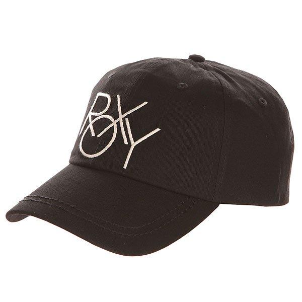 Бейсболка классическая женская Roxy Extra True Black<br><br>Цвет: черный<br>Тип: Бейсболка классическая<br>Возраст: Взрослый<br>Пол: Женский