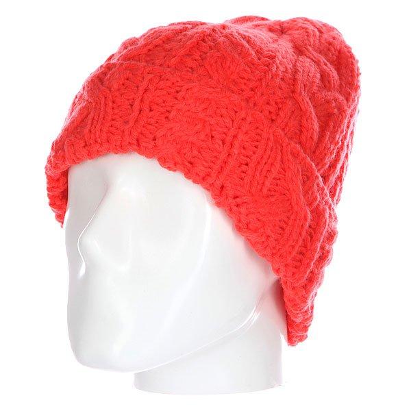 Шапка женская GNU Meadow Beanie Coral<br><br>Цвет: розовый<br>Тип: Шапка<br>Возраст: Взрослый<br>Пол: Женский