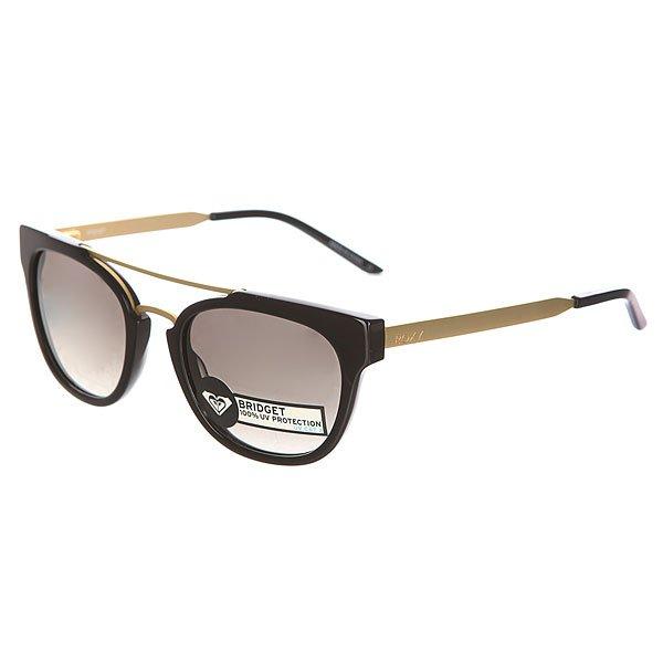 Очки женские Roxy Bridget BlackСтильные очки для стильных леди.Характеристики:Оправа из гриламида.Оптически корректные поликарбонатные линзы.6-тислойное покрытие против царапин.3 категория защиты линз от очень ярких солнечных лучей. 100% защиты от УФ-лучей (UV A, UVB). Оправа среднего размера. Мягкая защитная сумочка в комплекте.<br><br>Цвет: черный<br>Тип: Очки<br>Возраст: Взрослый<br>Пол: Женский